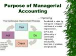 purpose of managerial accounting10