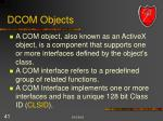 dcom objects