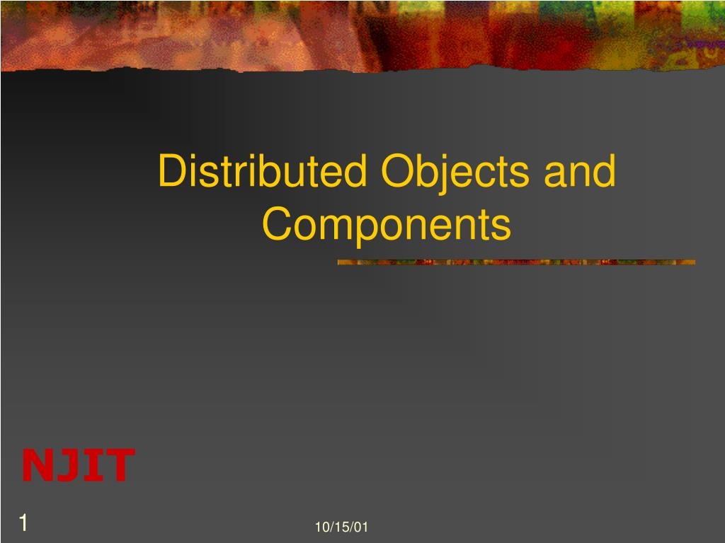 distributed objects and components l.