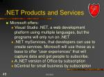 net products and services