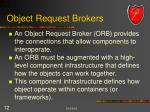 object request brokers