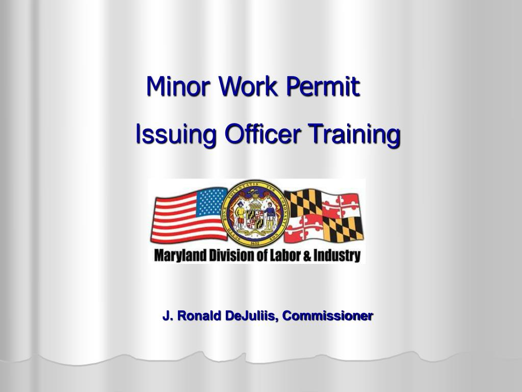 minor work permit l.