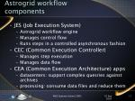 astrogrid workflow components