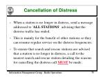 cancellation of distress