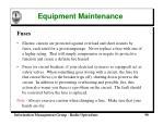 equipment maintenance90