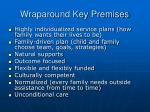 wraparound key premises