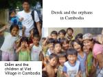 derek and the orphans in cambodia