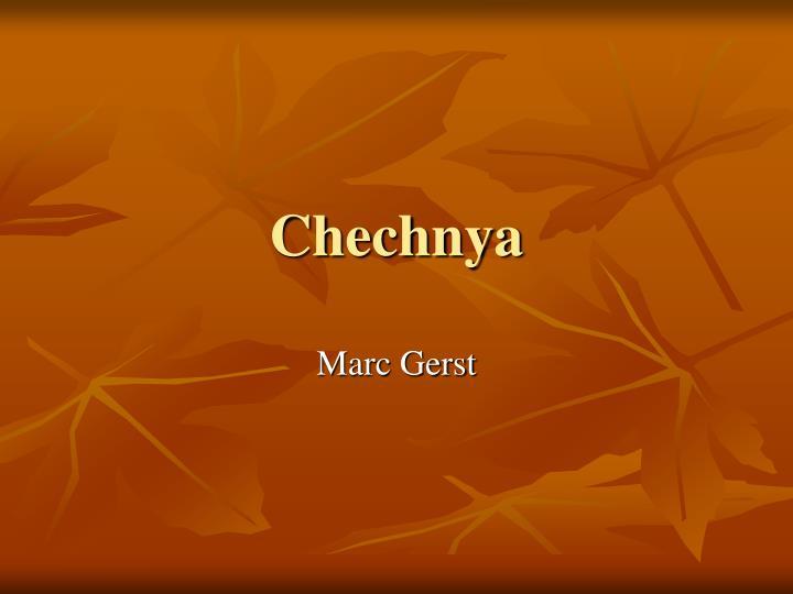 chechnya n.
