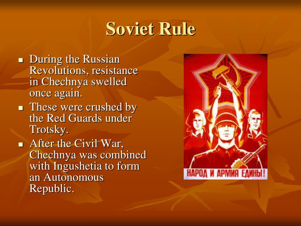 Soviet Rule