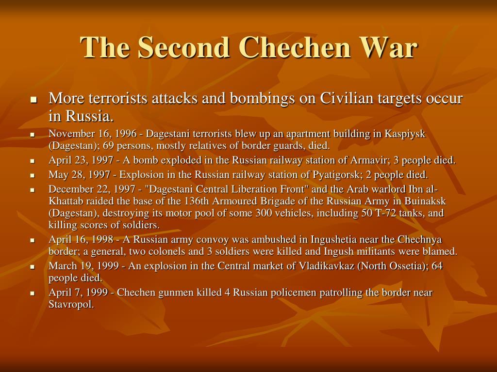 The Second Chechen War