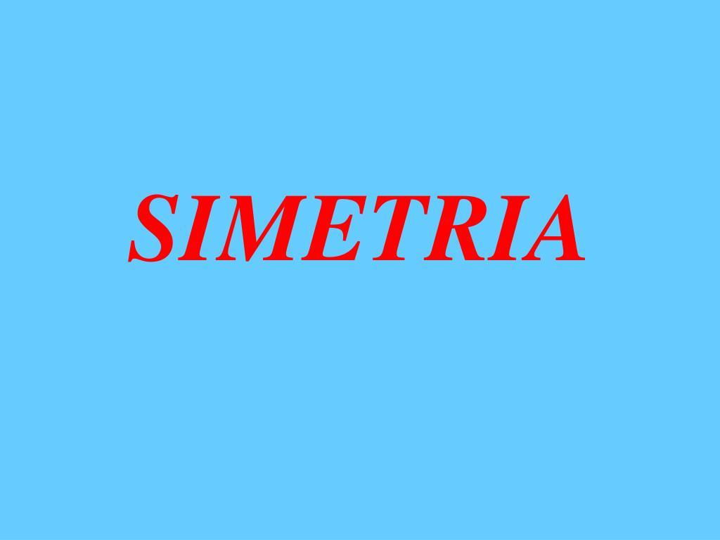 simetria l.