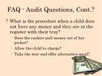 faq audit questions cont2