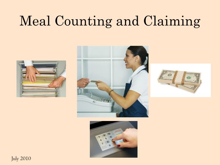 meal counting and claiming n.
