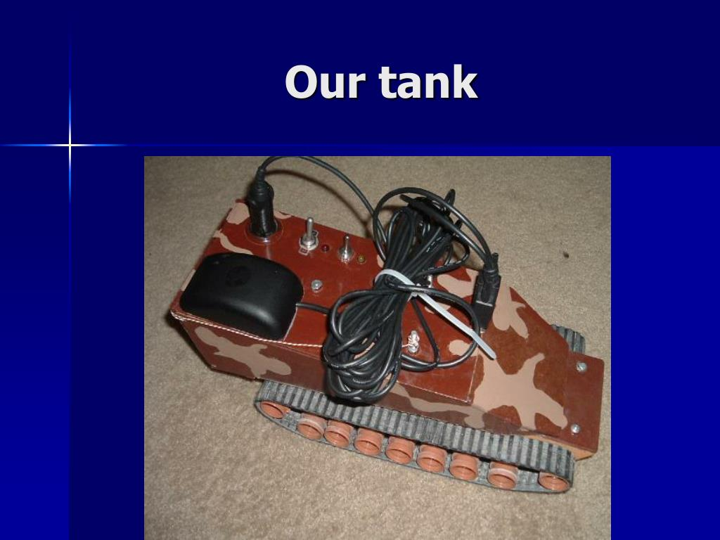 Our tank