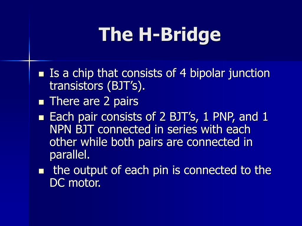 The H-Bridge