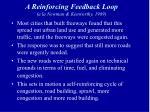 a reinforcing feedback loop a la newman kenworthy 1989