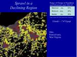 sprawl in a declining region