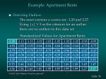example apartment rents54