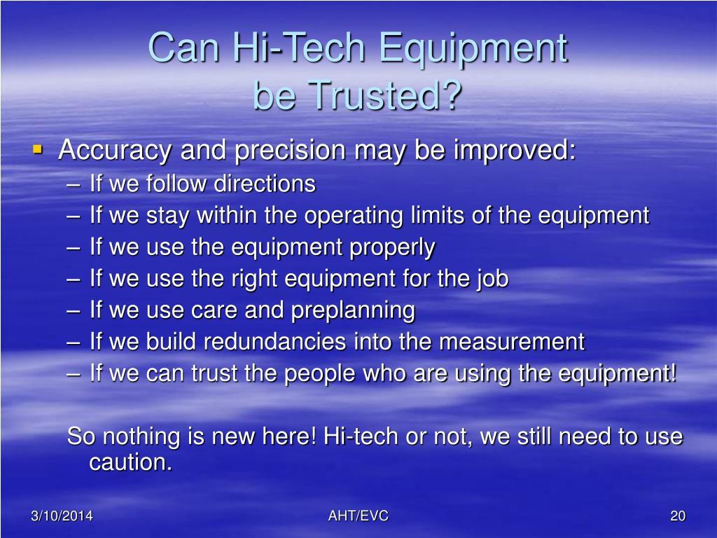 Can Hi-Tech Equipment