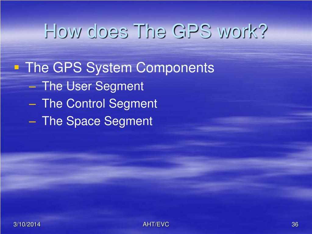 How does The GPS work?