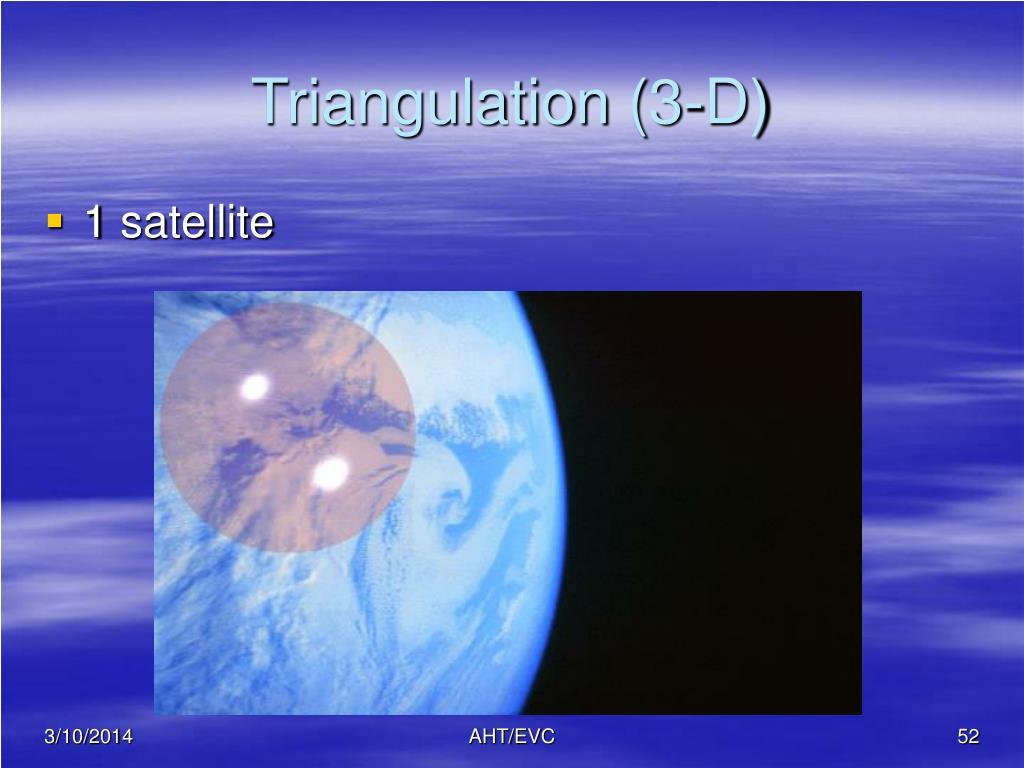 Triangulation (3-D)
