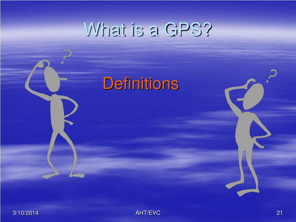 What is a GPS?