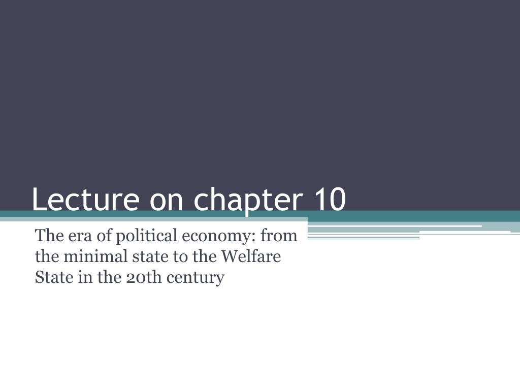 lecture on chapter 10 l.
