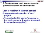 3 contemporary rural women agency governance and rural development