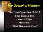 the gospel of matthew2