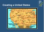 creating a united states