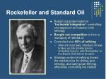 rockefeller and standard oil