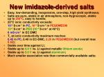 new imidazole derived salts