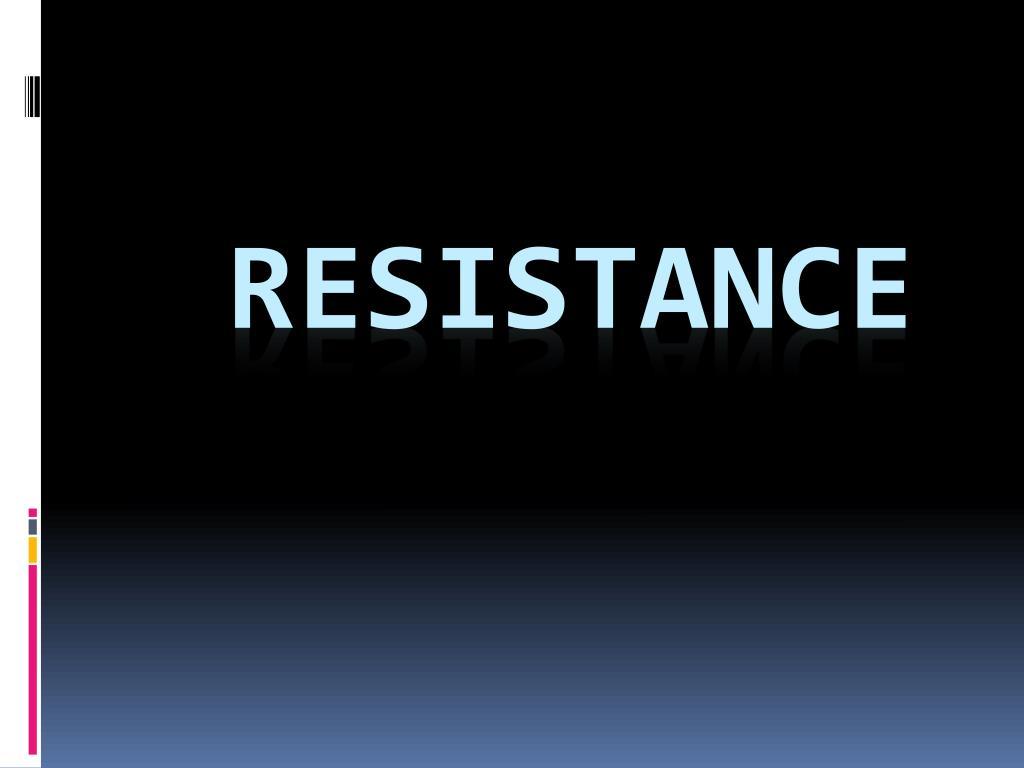 resistance l.