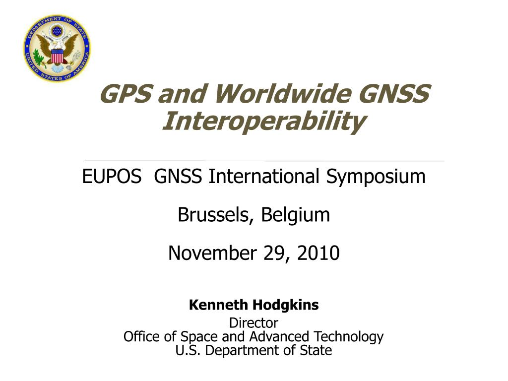 gps and worldwide gnss interoperability l.
