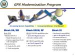 gps modernization program