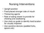 nursing interventions21