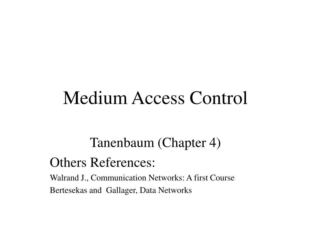 medium access control l.