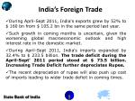 india s foreign trade