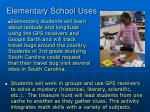 elementary school uses