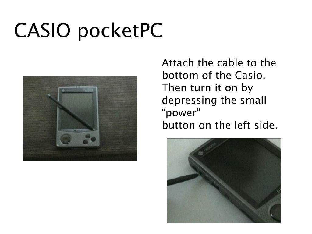 CASIO pocketPC