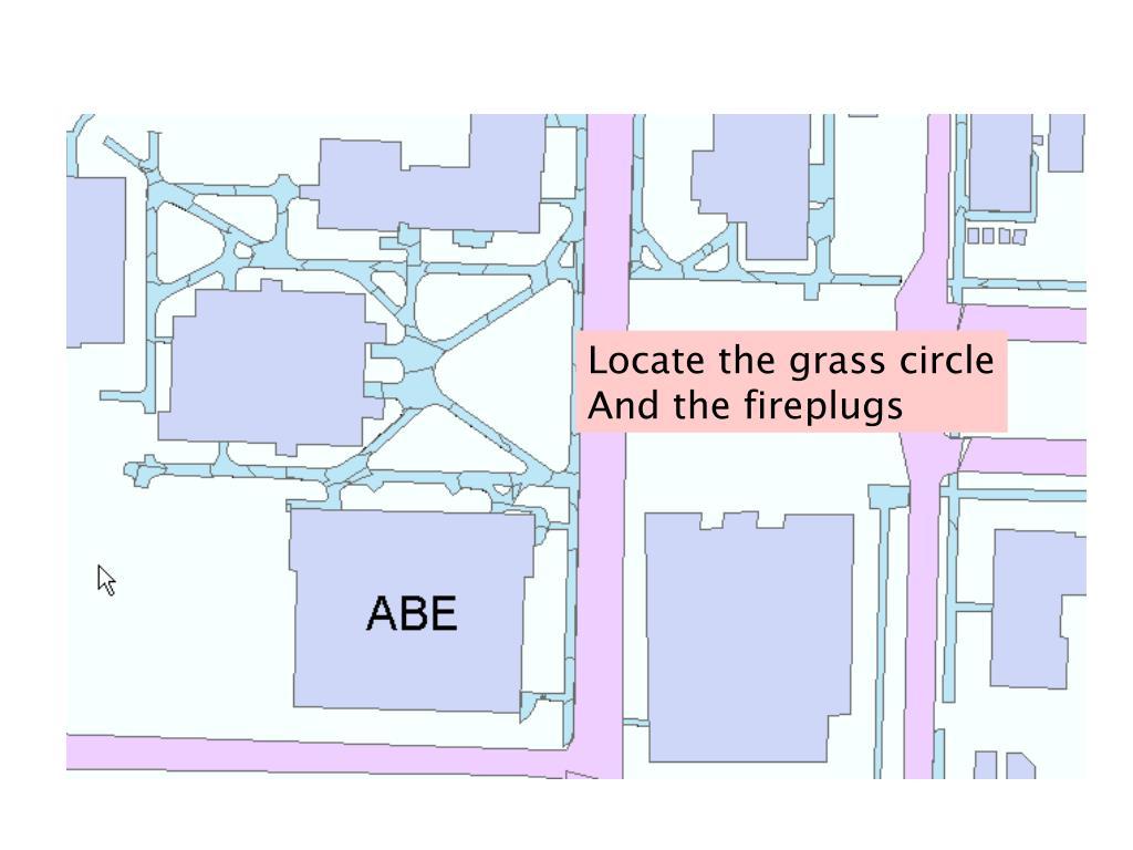 Locate the grass circle
