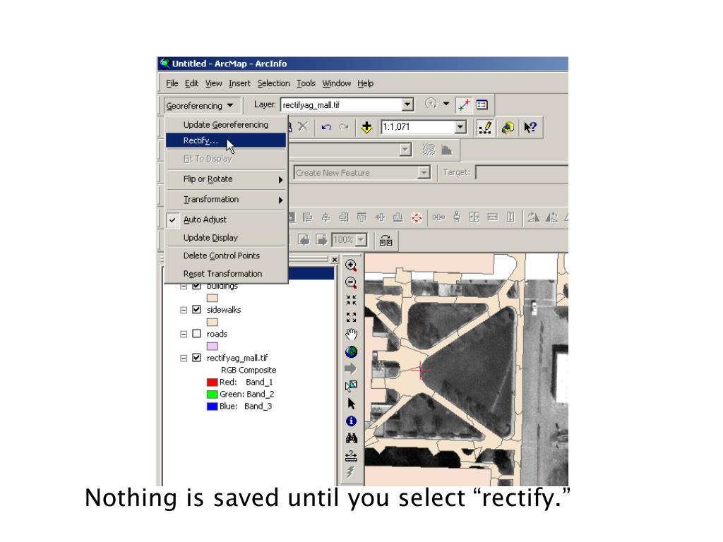 """Nothing is saved until you select """"rectify."""""""