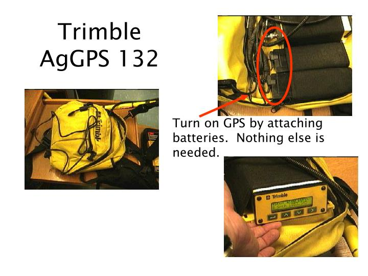 Trimble aggps 132