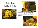 trimble aggps 132