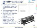 18mw dump design