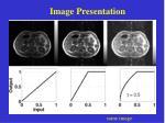 image presentation