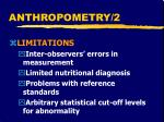 anthropometry 2