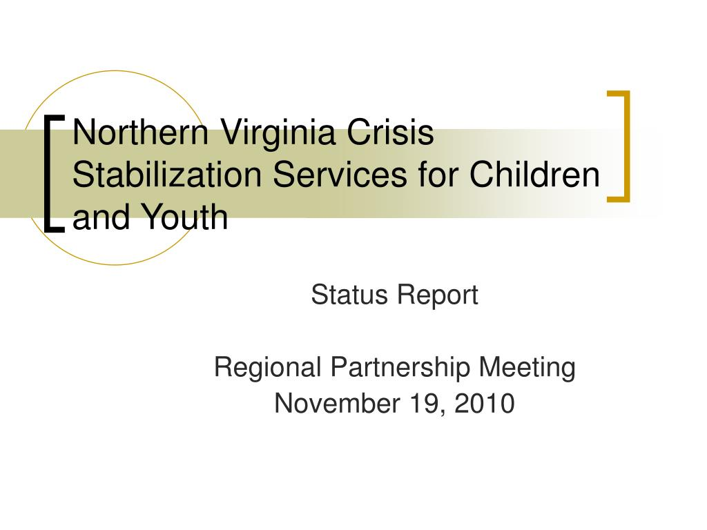 northern virginia crisis stabilization services for children and youth l.