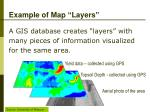 example of map layers