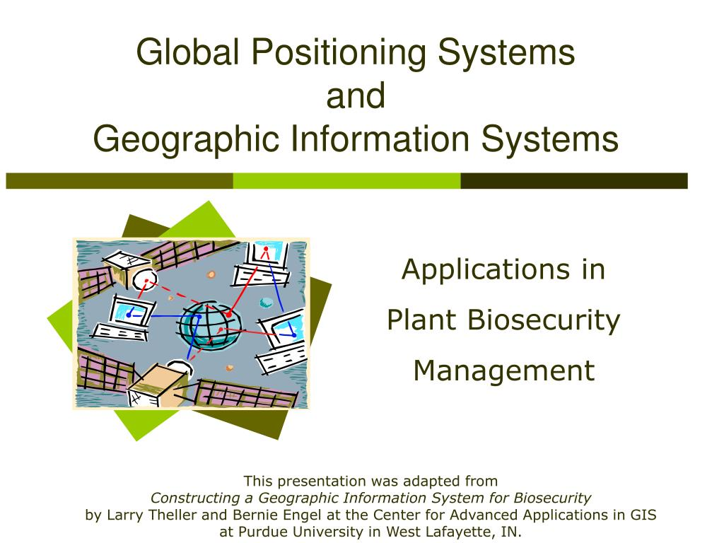global positioning systems and geographic information systems l.